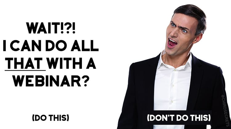 Nothing converts better than Live Webinars… Until Now - Welcome EverWebinar 6