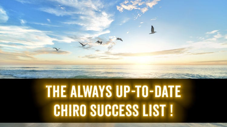 chiropractic success marketing list