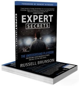 Expert Secrets Book by Russell Brunson (Clickfunnels) - Chiro Success Secrets